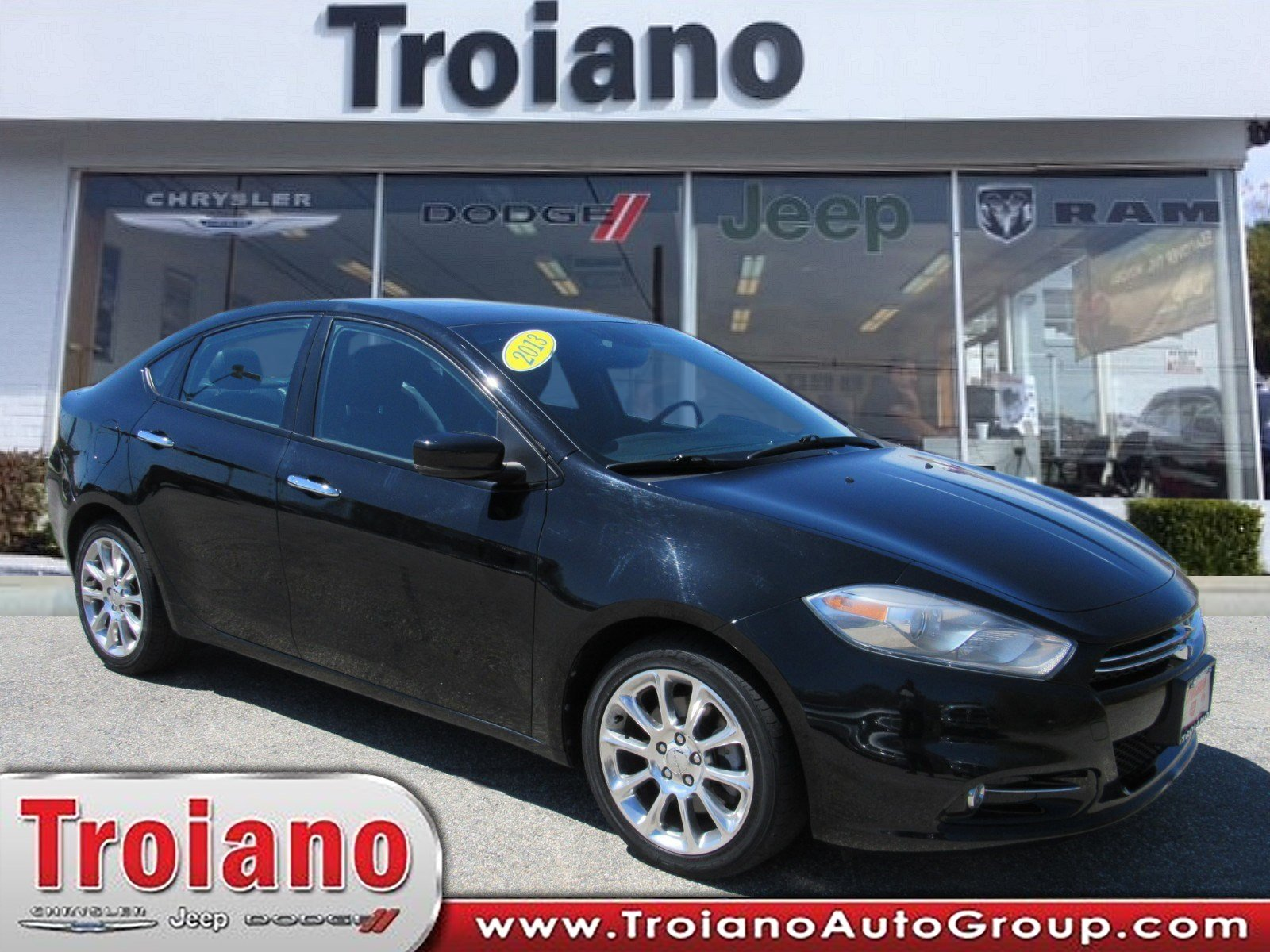 Pre Owned 2013 Dodge Dart Limited 4dr Car In Colchester Uc4005a
