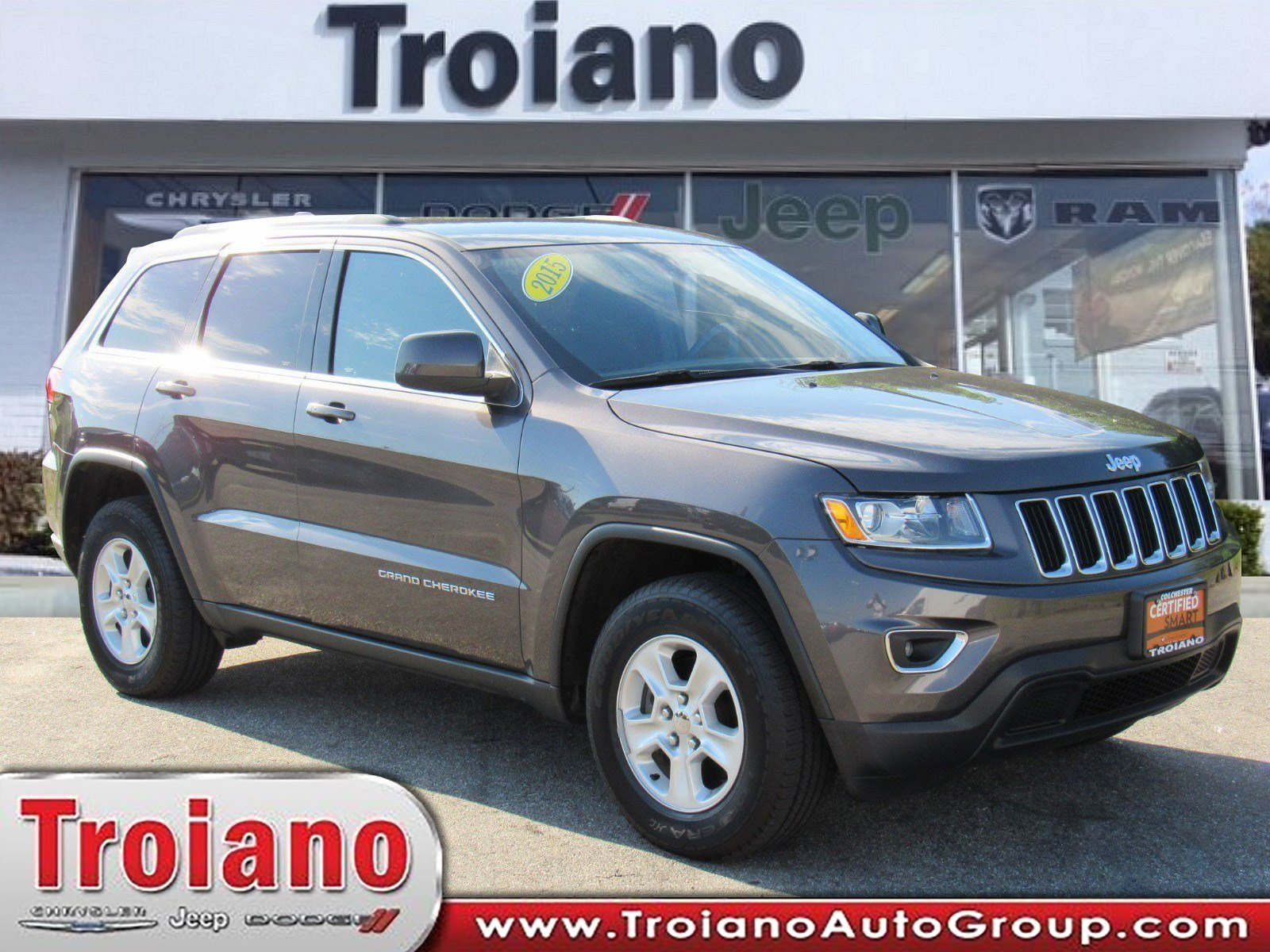 Certified Pre Owned 2015 Jeep Grand Cherokee Laredo