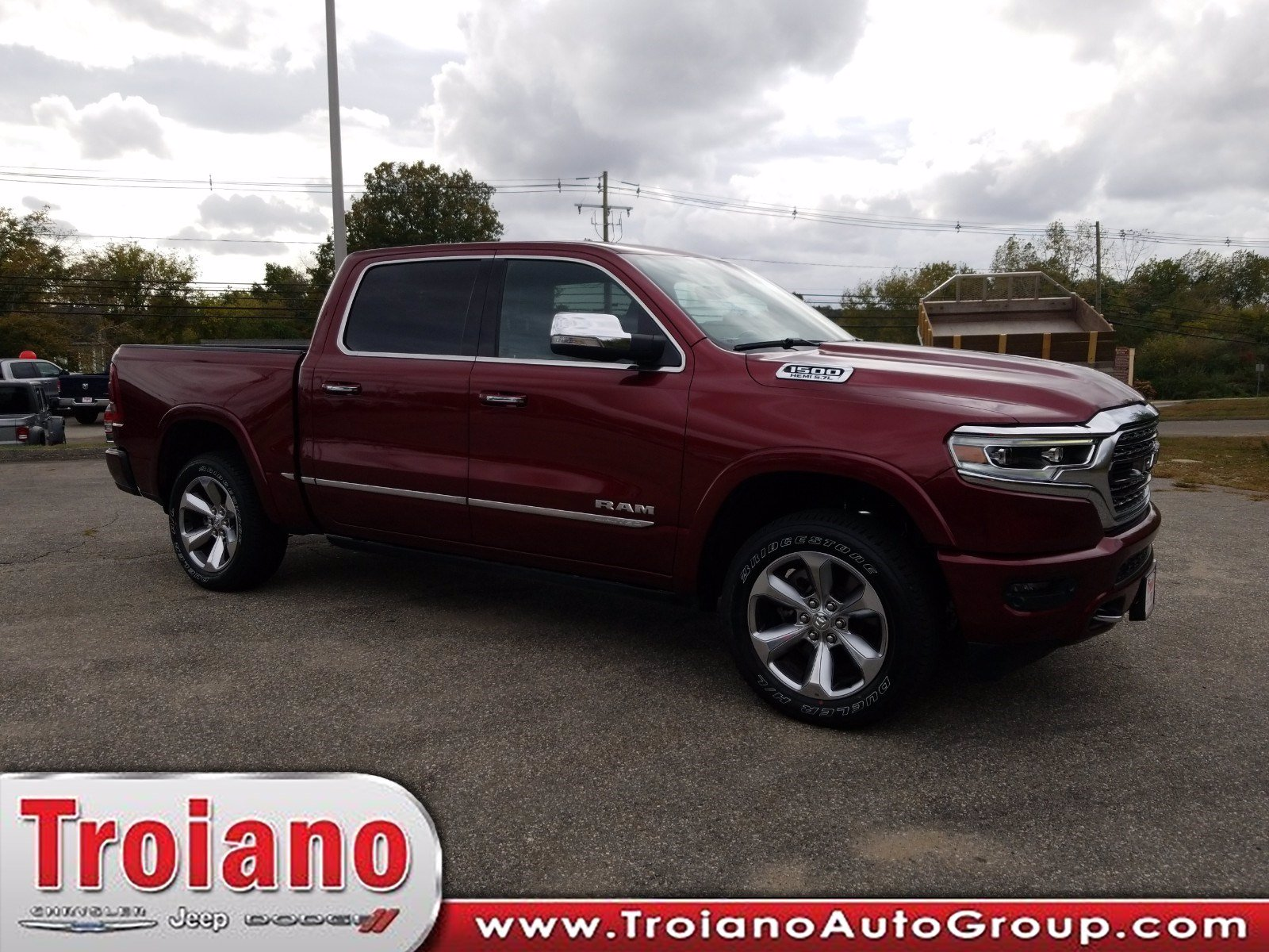 New 2019 Ram All New 1500 Limited Crew Cab In Colchester R1634