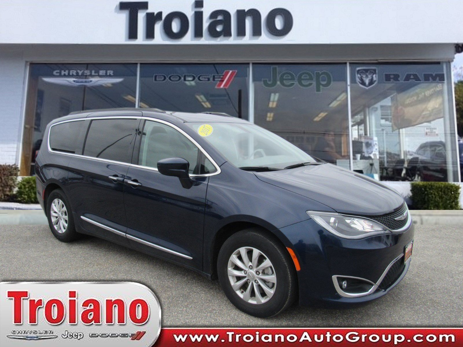 Certified Pre Owned 2017 Chrysler Pacifica Touring L