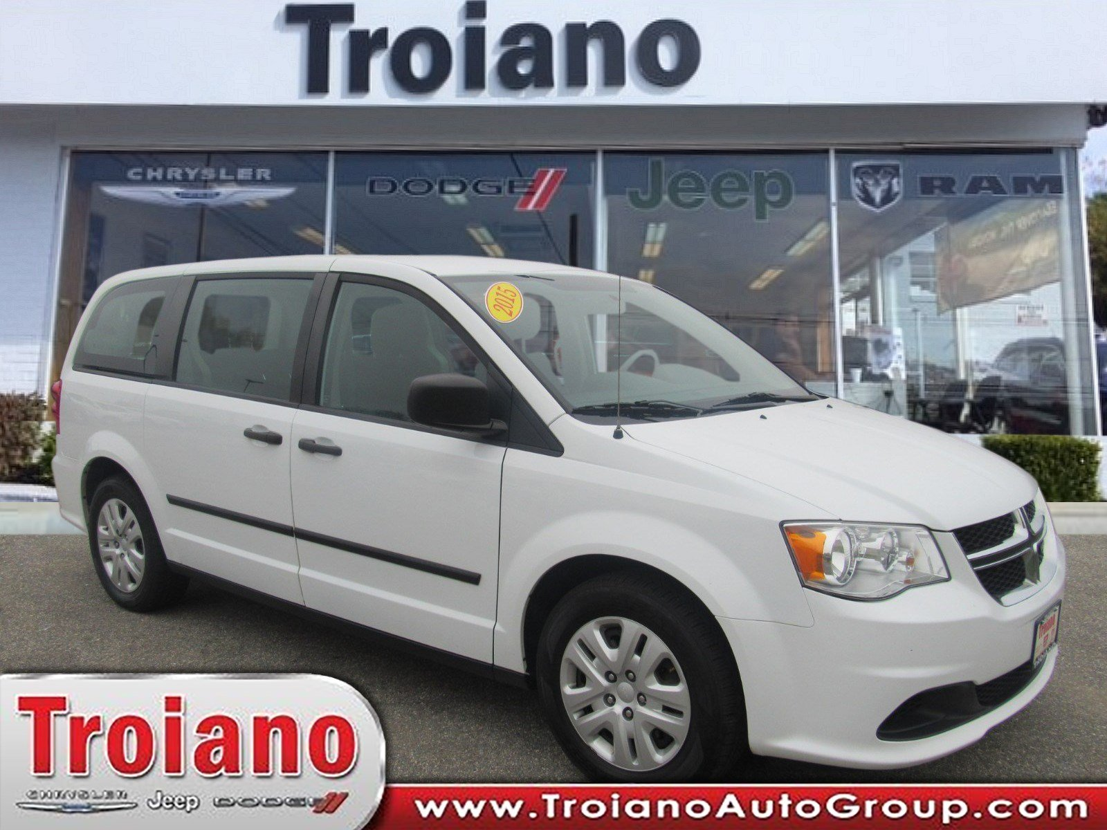 Pre-Owned 2015 Dodge Grand Caravan American Value Pkg