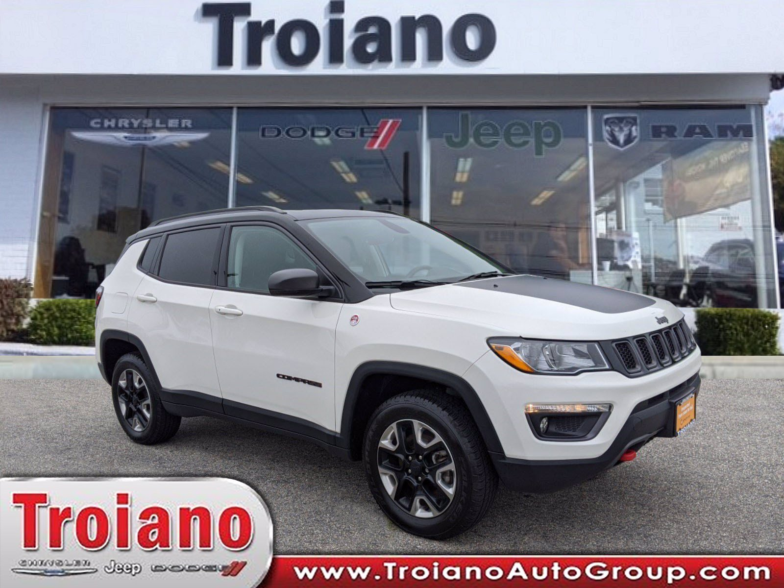 Certified Pre Owned 2017 Jeep Compass Trailhawk Sport Utility In