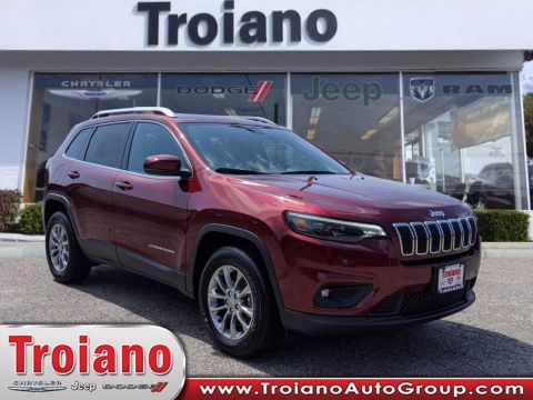 CERTIFIED PRE-OWNED 2019 JEEP CHEROKEE LATITUDE PLUS 4WD
