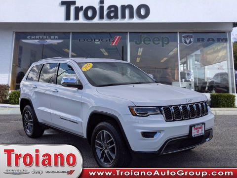 CERTIFIED PRE-OWNED 2019 JEEP GRAND CHEROKEE LIMITED WITH NAVIGATION & 4WD
