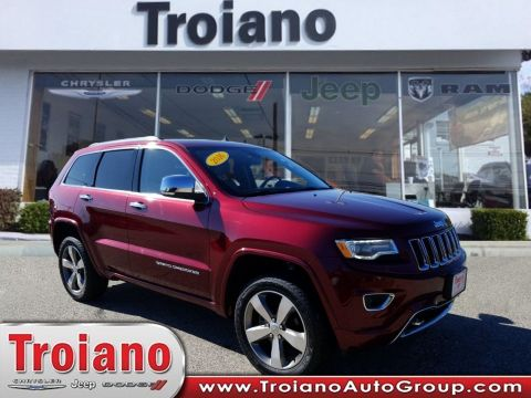 CERTIFIED PRE-OWNED 2016 JEEP GRAND CHEROKEE OVERLAND WITH NAVIGATION & 4WD