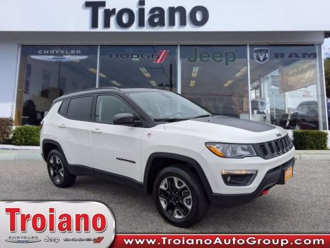CERTIFIED PRE-OWNED 2017 JEEP COMPASS TRAILHAWK 4WD
